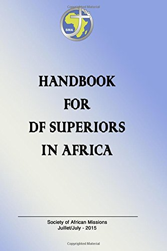 Handbook for D.F. Superiors in africa