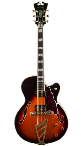 D'angelico EXS-1DH Classic Sunburst NEW Semi-Hollow Electric Guitar