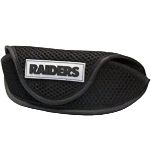 NFL Oakland Raiders Soft Sport Glasses Case by Siskiyou Sports