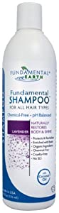 Fundamental Shampoo - 12 Oz. - Chemical Free Shampoo - SLS Free - Natural Shampoo - Made in USA
