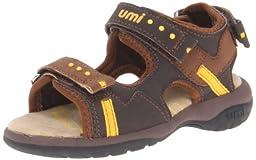 umi Laren Sandal (Toddler/Little Kid),Brown Multi,26 EU(9 M US Toddler)