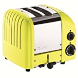 Dualit 2 Slice Classic Toaster, Citrus Yellow