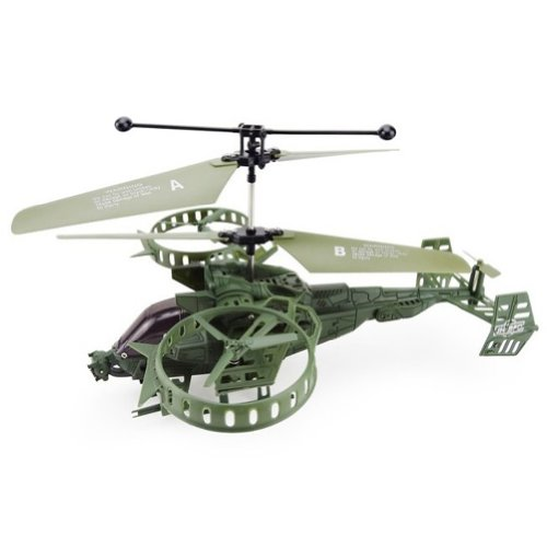 3.5 Channel Infrared co-axial RC helicopter with Gyroscope