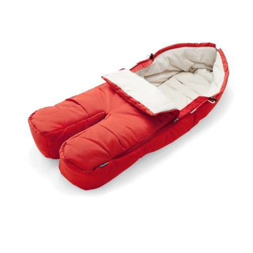 Stokke Xplory Footmuff, Red front-946598