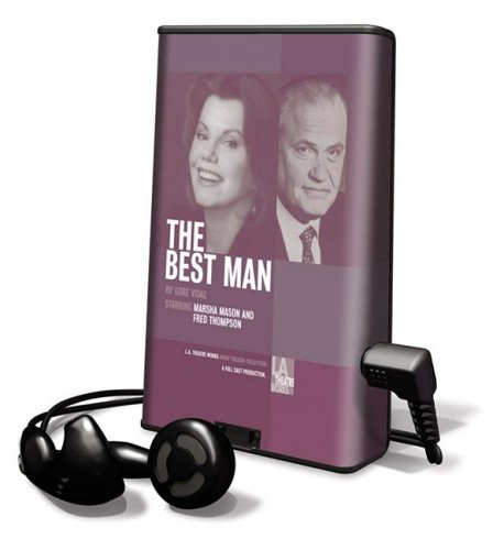 The Best Man [With Earbuds] (Playaway Adult Fiction)