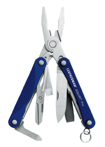 Leatherman 831192 Squirt Ps4 Blue Keychain Tool With Plier front-1012364
