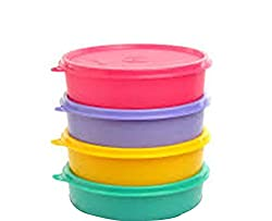 Tupperware Large Handy Bowl 500 ml set of 4 (Color may very)