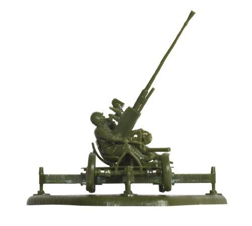 Zvezda Models 1/72 Soviet 37mm Anti-Aircraft Gun Type 61K With Crew - 1