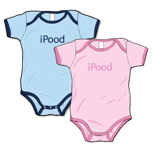 iPood - Silly Baby Onesie, Baby Blue or Pink - Buy iPood - Silly Baby Onesie, Baby Blue or Pink - Purchase iPood - Silly Baby Onesie, Baby Blue or Pink (La Retro Baby, La Retro Baby Apparel, La Retro Baby Toddler Boys Apparel, Apparel, Departments, Kids & Baby, Infants & Toddlers, Boys, One-Pieces & Rompers)