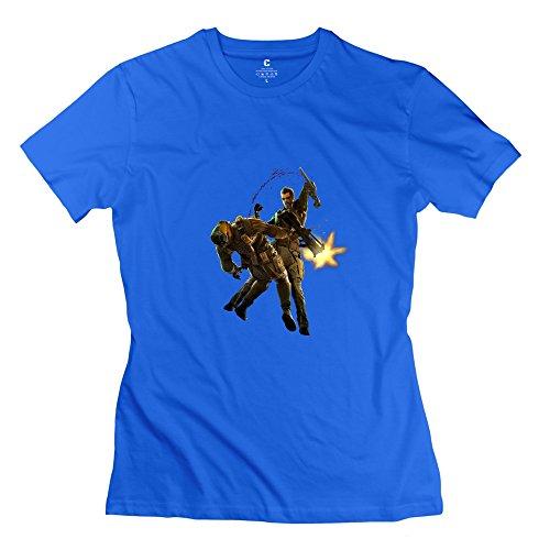 TEC&KIM Deus Ex: Human Revolution Unique 100% Cotton T Shirts For Adult
