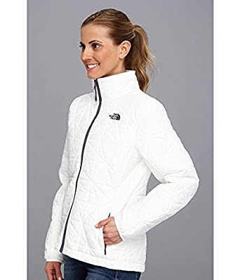 The North Face Women's Tamburello Jacket TNF White/TNF White/Dark Navy Blue/Greystone Blue MD