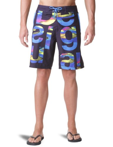 Desigual Letras Men's Swim Shorts Navy XX_Large