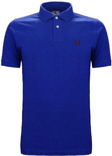 Lyle & Scott Heritage Men's Polo T-Shirt Captain Blue (XL)
