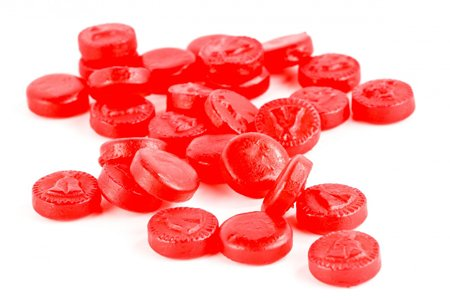 SweetGourmet Juju Cherry Coins, 1.5 Lb (Red Hot Dollars Candy compare prices)