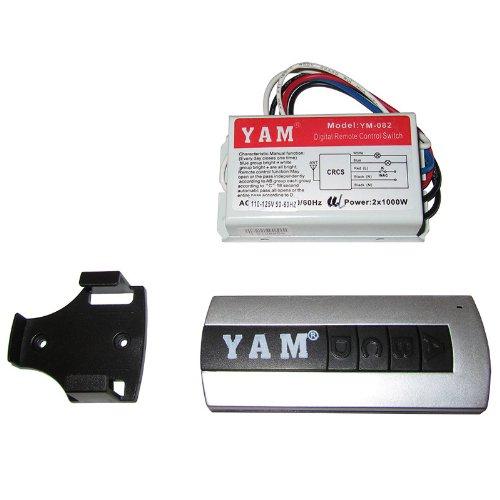 Wireless Remote Control Switch, 110-125V, 2 Channel X 1000W