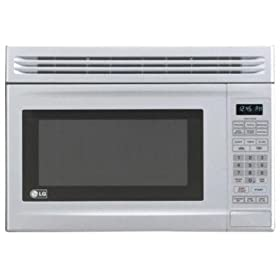 LG : LMV1314W 1.3 cu. ft. Compact Over the Range Microwave - White