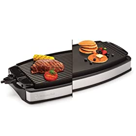 Wolfgang Puck Indoor Reversible Electric Grill/Griddle