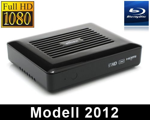 Ellion Labo-110 Mediaplayer Modell 2012 1080p MKV Mediathek H.264 Blu-Ray ISO 3D-SBS Smart TV Apps