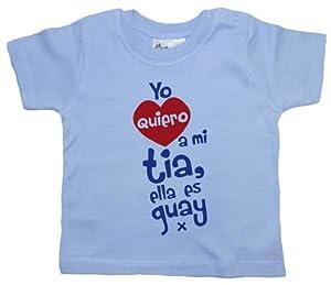 Dirty Fingers, Yo quiero a mi tia, ella es guay x, Bebés Camiseta en Bebe Hogar