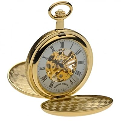 Mount Royal Pocket Watch B27 Gold Plated Double Hunter