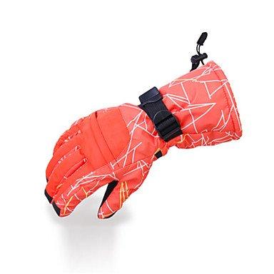ZMW-Doigt-complet-Gants-hivernaux-Femme-Homme-Garder-au-chaud-Etanche-Doublure-Polaire-Ski-Snowboard-S-M-L-XL