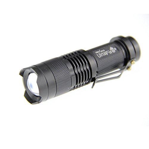 Mini Cree Led Flashlight 3 Modes Torch Adjustable Focus Zoom Light Lamp picture