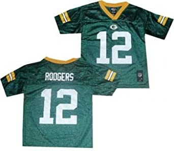 Green Bay Packers Aaron Rodgers Youth Kids 4-7 Jersey by Reebok