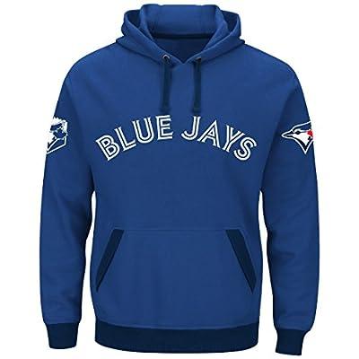"Toronto Blue Jays Majestic MLB ""Third Wind"" Men's Hooded Sweatshirt"
