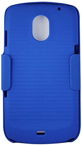 Reiko Hc-Sami515Nv Premium Durable Combo Case With Holster For Samsung Galaxy Nexus I515 - 1 Pack - Retail Packaging - Navy