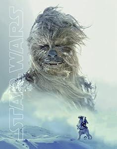 Star Wars Chewbacca Snow Wookie Sci Fi Movie Film Rare Vintage Postcard Poster Print 11 by 14