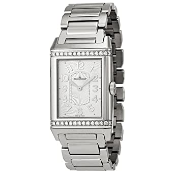 Jaeger LeCoultre Grand Reverso Lady Ultra Thin Silver Dial Stainless Steel Ladies Watch Q3208121