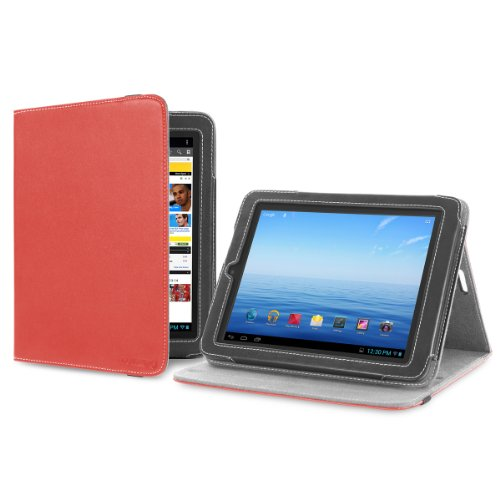 Cover-Up Nextbook Premium8HD (NX008HD8G) (8-inch) Version Stand Cover Case - Red from Electronic-Readers.com