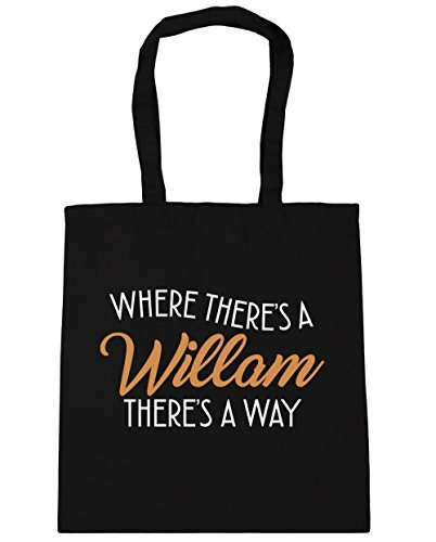 hippowarehouse-where-theres-a-willam-theres-a-way-tote-shopping-gym-beach-bag-42cm-x38cm-10-litres