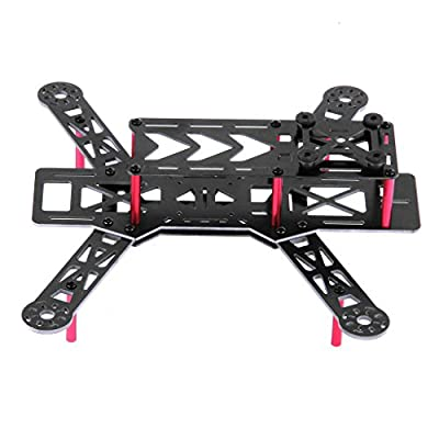 FLOUREON DIY V1 G10 250 Mini FPV Quadcopter Multirotor Frame Kit 250mm