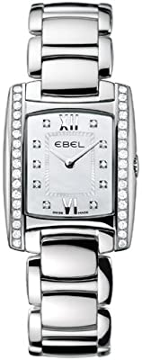 Ebel Brasilia Ladies Diamond Mother-Of-Pearl Watch 9976m28/9810500 1215607