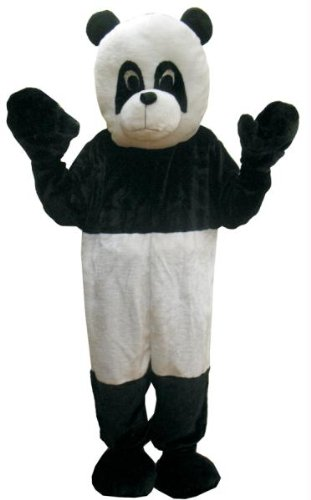 Costumes For All Occasions UP475 Panda Mascot Adult One Size