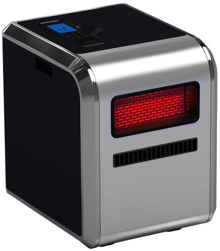 RedCore 1500 Infrared Indoor Heater with Air Purifier and Humidifier, Silver