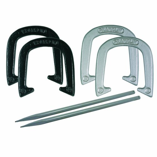 Franklin Sports Expert Pitching Horseshoe Set