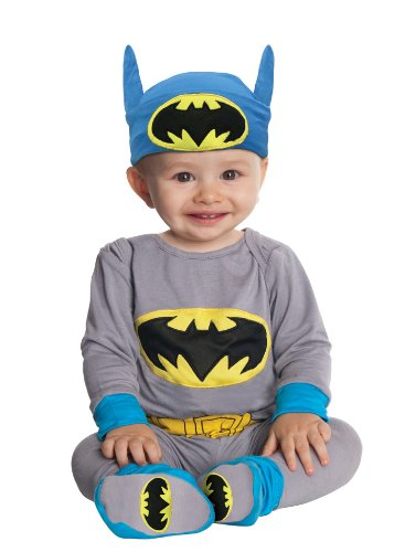 Rubies Costume Co Dc Comics Gray Batman Onesie And Headpiece at Gotham City Store
