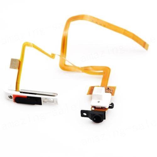 Seattletech New Headphone Audio Jack Headset Audio Flex Ribbon Cable Cable For Ipod Classic 6Th Gen 160Gb