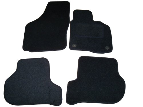 Sakura Car Mats in Black for Skoda Octavia (Fits 2008 on Models)