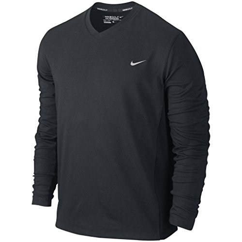 2014 Nike Dri-Fit Tech Mens Golf Sweater Lc Black Large
