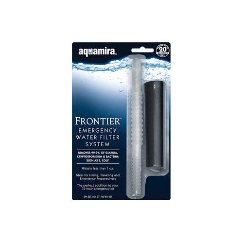 Aquamira Technologies Frontier Emergency Filter