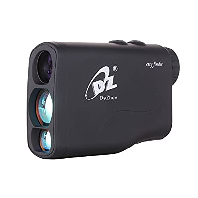DaZhen Hunting Rangefinder Laser Range Finder 650 Yard Golf Monocular Portable Measure Distance Meter Tester with 20 Seconds Scan,Speed Measurement from DaZhen