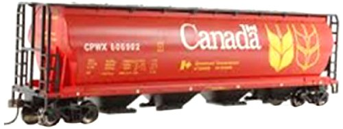 Bachmann Trains Canadian Grain 4 Bay Cylindrical Grain Hopper