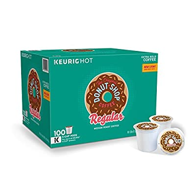 Green Mountain Coffee The Orginal Donut Shop Coffee, 100 Count from Kev and Cooper LLC