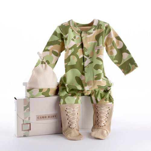The Baby Soldier Baby Dreams Army Theme Baby Clothing Gift Set