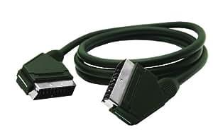 G & BL câble péritel (21 broches, entièrement blindé) 2,5 m (Import Allemagne)