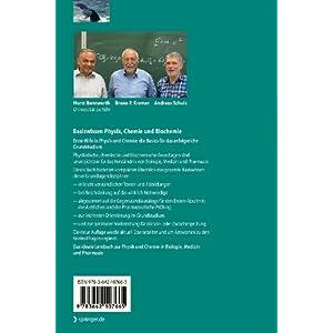 Basiswissen Physik, Chemie und Biochemie: Vom Atom bis zur Atmung - für Bio
