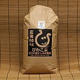 日本晴 環境こだわり米 玄米10kg【平成26年・滋賀県産】
